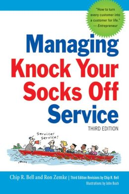 Managing-knock-your-socks-off-service